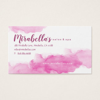 Cartão mínimo branco na moda da nomeação da