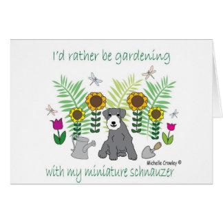 Cartão MiniSchnauzer