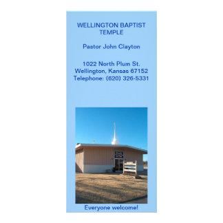 Cartão/ministério da cremalheira panfletos informativos