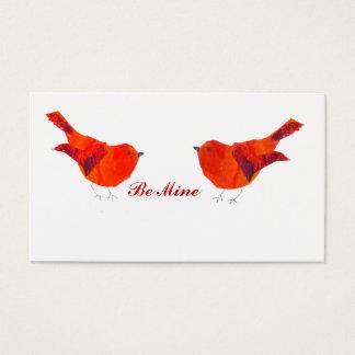 Cartão minúsculo do dia dos namorados de ACEO