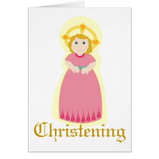 Cartão Miraculoso Batismo-Personalize