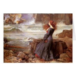 Cartão Miranda - a tempestade
