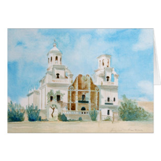 Cartão Missão San Xavier del CCB