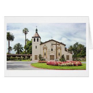 Cartão Missão Santa Clara de Asis