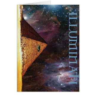 Cartão Mistério galáctico de Illuminati