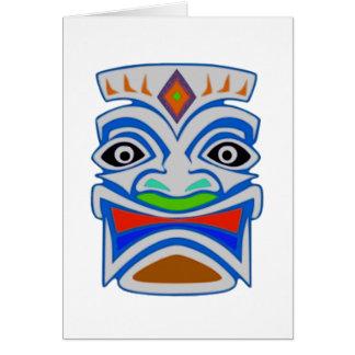Cartão Mitologia polinésia