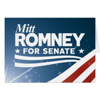 Cartão Mitt Romney 2018