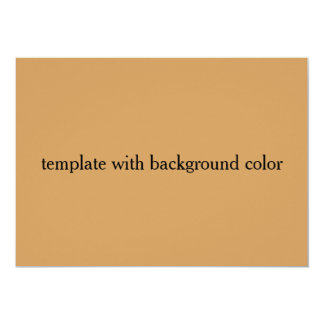 Cartão modelo com cor do fundo