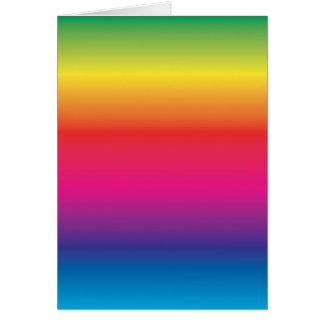 Cartão Modelo da imagem do arco-íris