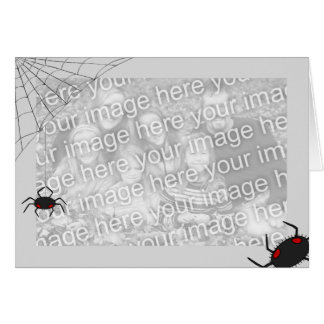 Cartão Modelo de Spiderweb