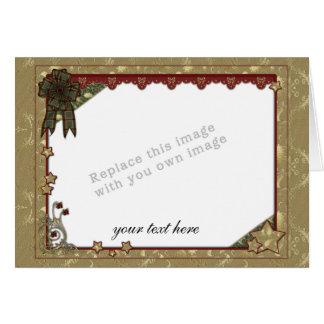 Cartão Modelo do Natal