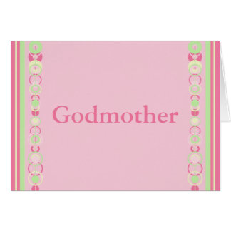 Cartão moderno cor-de-rosa dos círculos da