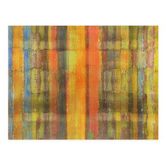 Cartão moderno da arte abstracta
