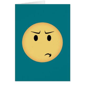 Cartão Moji Disappointed