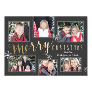 Cartão Momentos do Feliz Natal