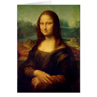 Cartão Mona Lisa | Leonardo da Vinci