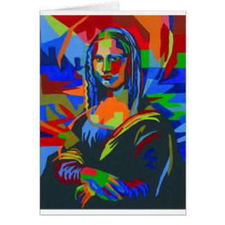Cartão Mona Lisa Wpap