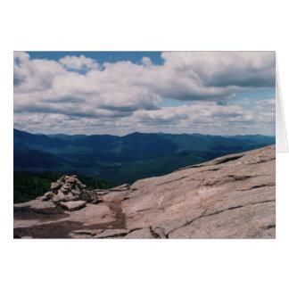 Cartão Montanha da cascata