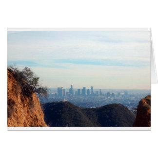 Cartão Montanha quadro LA