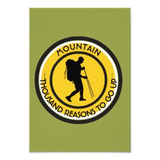 Cartão Montanhista