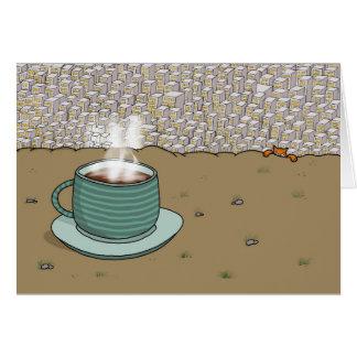 Cartão Monte do café