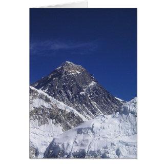 Cartão Monte Everest