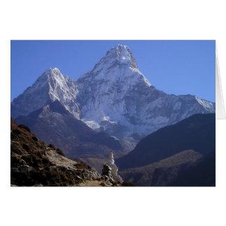 Cartão Monte Everest 4