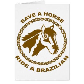 Cartão Monte um brasileiro