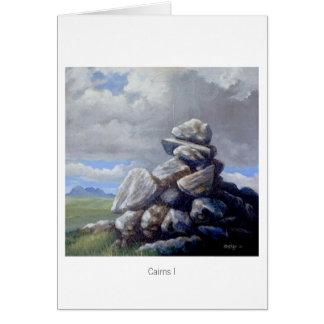 Cartão Montes de pedras mim