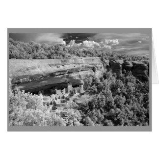 Cartão Moradias de penhasco do Mesa Verde