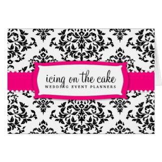 Cartão Morango da cereja sobre o bolo 311
