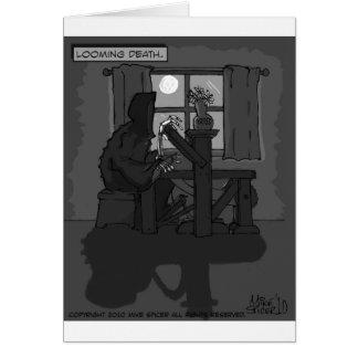 Cartão Morte de aparecimento
