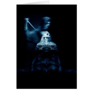 Cartão Morte do vampiro