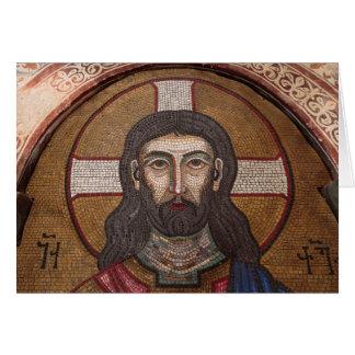 Cartão Mosaico de Jesus