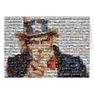 Cartão Mosaico do tio Sam