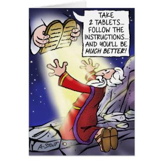 """Cartão Moses… obtem """"melhor""""!"""