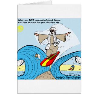 Cartão Moses surfa coleções engraçadas dos presentes das