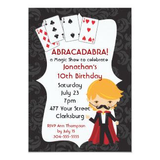 Cartão Mostra mágica