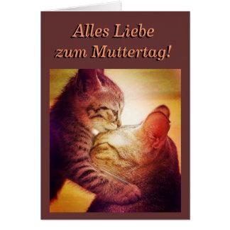 Cartão Mothersday Card