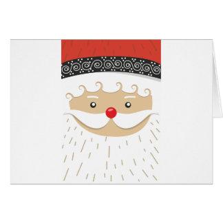Cartão Motivo do Natal de Papai Noel