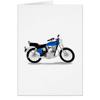 Cartão Motocicleta