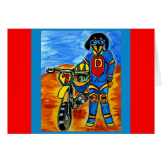 Cartão Motociclista Joanne