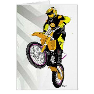 Cartão Motocross 401