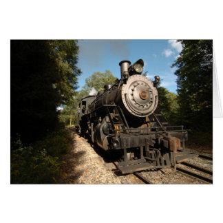 Cartão Motor de vapor 40