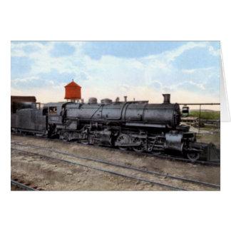 Cartão Motor do trem de Duluth Minnesota
