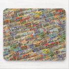 Cartão Mousepad de Texas do vintage