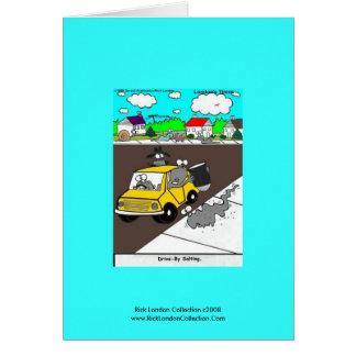 """Cartão """"movimentação do Slug/desenhos animados do"""