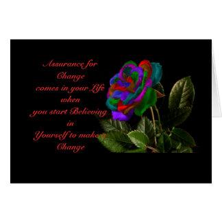 Cartão mudança