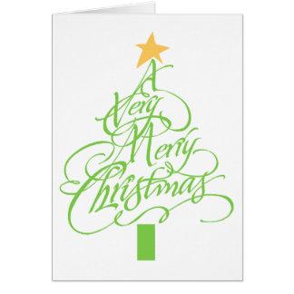 Cartão Muito Feliz Natal