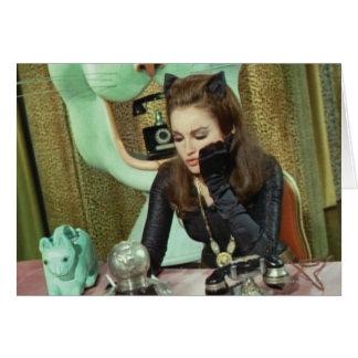 Cartão Mulher-gato